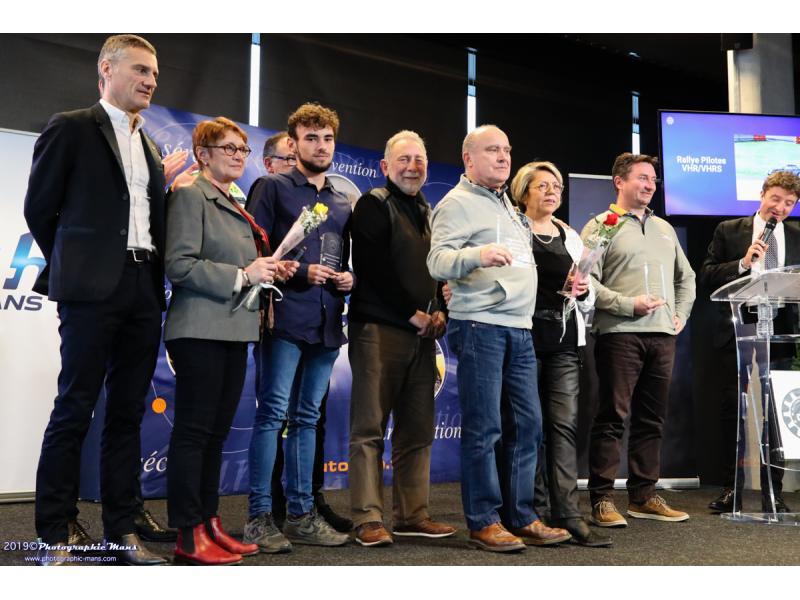 Les trophées des Rallyes VHR / VHRS avec Quentin et Laurent LEPOTIER