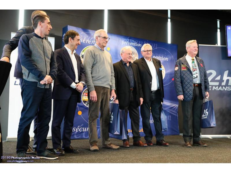 Michel BRAUNSTEIN, récompensé pour ses 50 ans de licence ACO