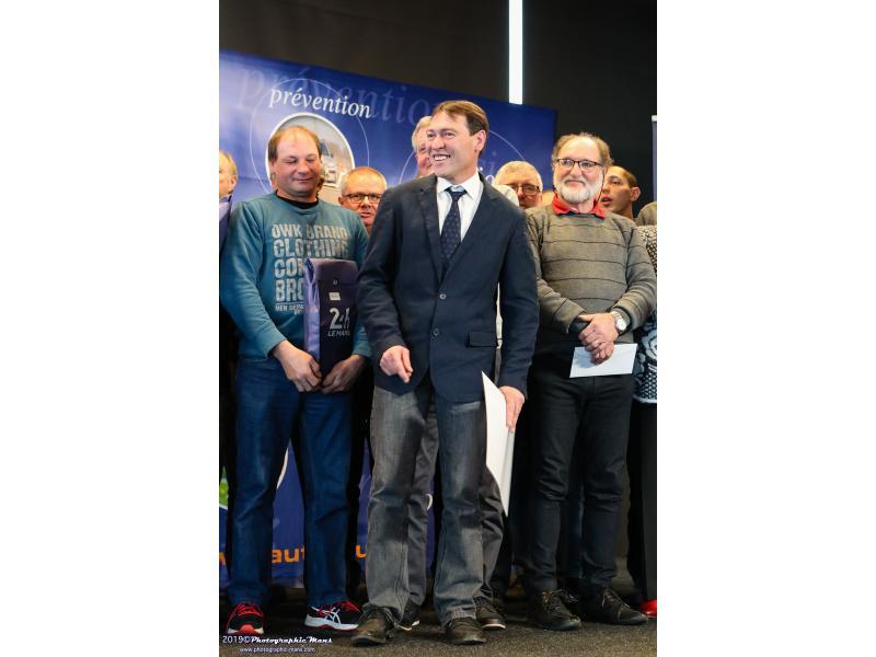 Bruno BERGER, 2 ème du Trophée des Commissaires