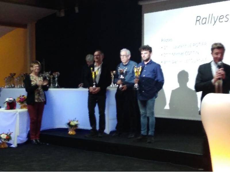 Podium Rallyes VHR / VHRS 2018