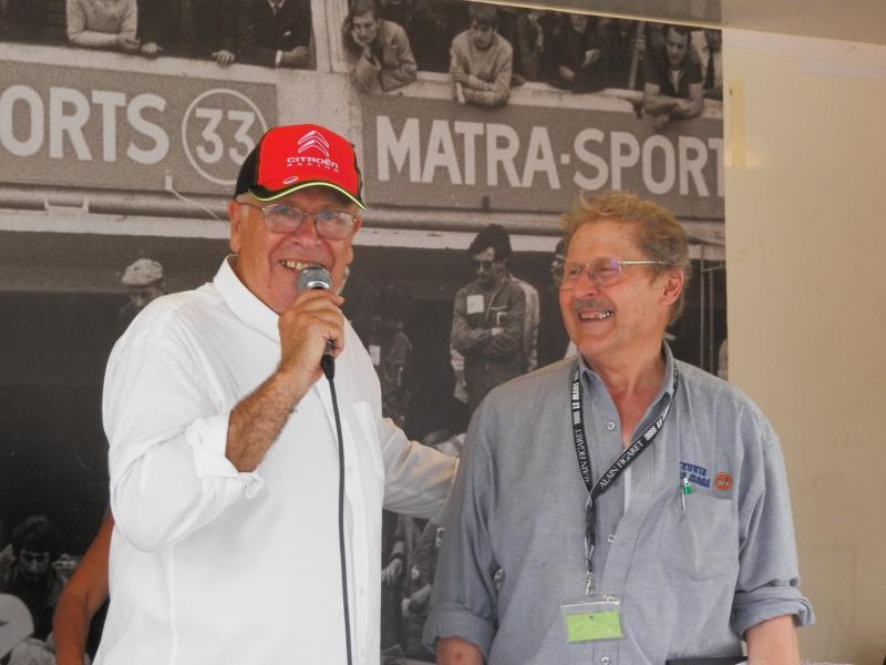 Interview de notre célèbre Jacques, référence de l'association, c'était son 53ème rallye, il est là depuis le début