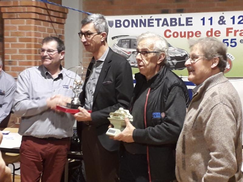 Les Trophées André CADIOUX et Claude ESSAYAN ont été remis à Jean-Paul BOUVET et Marc ESNAULT