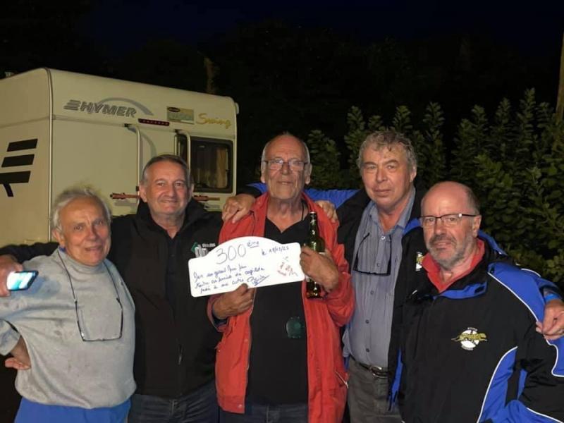 le 300 ème Rallye de Dan HOURY fêté par les Guépards