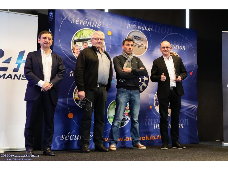 Prix Spéciaux avec André GRISON pour ses résultats en Coupe de France VHC