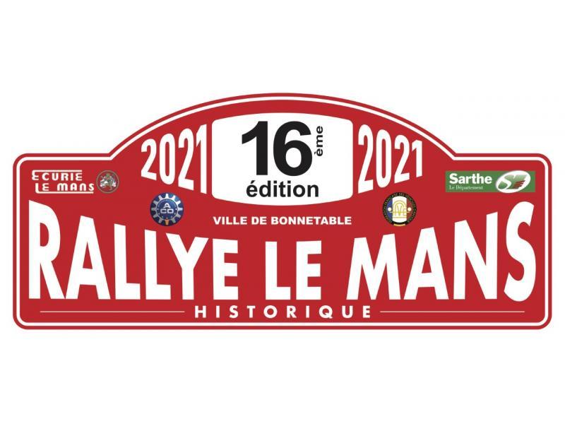 Plaque Rallye 16 RLMH