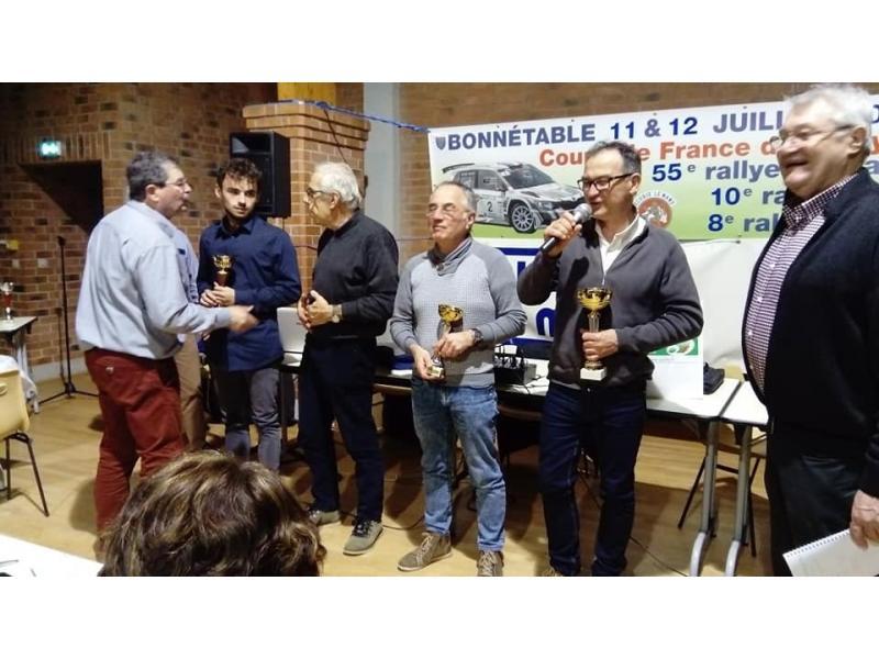Trophées pour les Rallyes VHRS